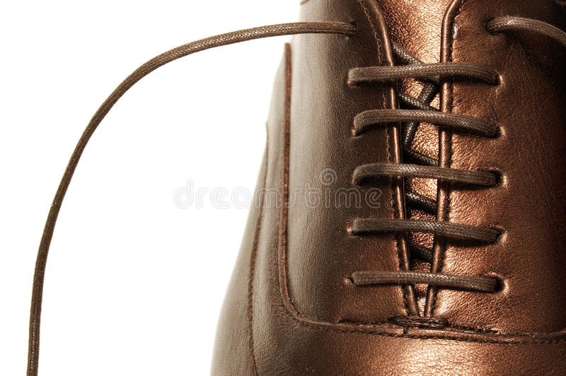 Chaussure d'homme images stock