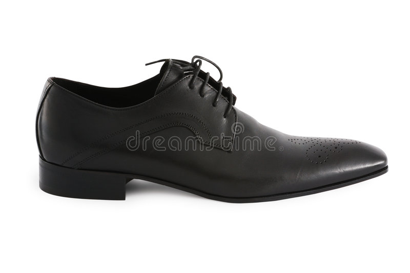chaussure d'hommes photo stock