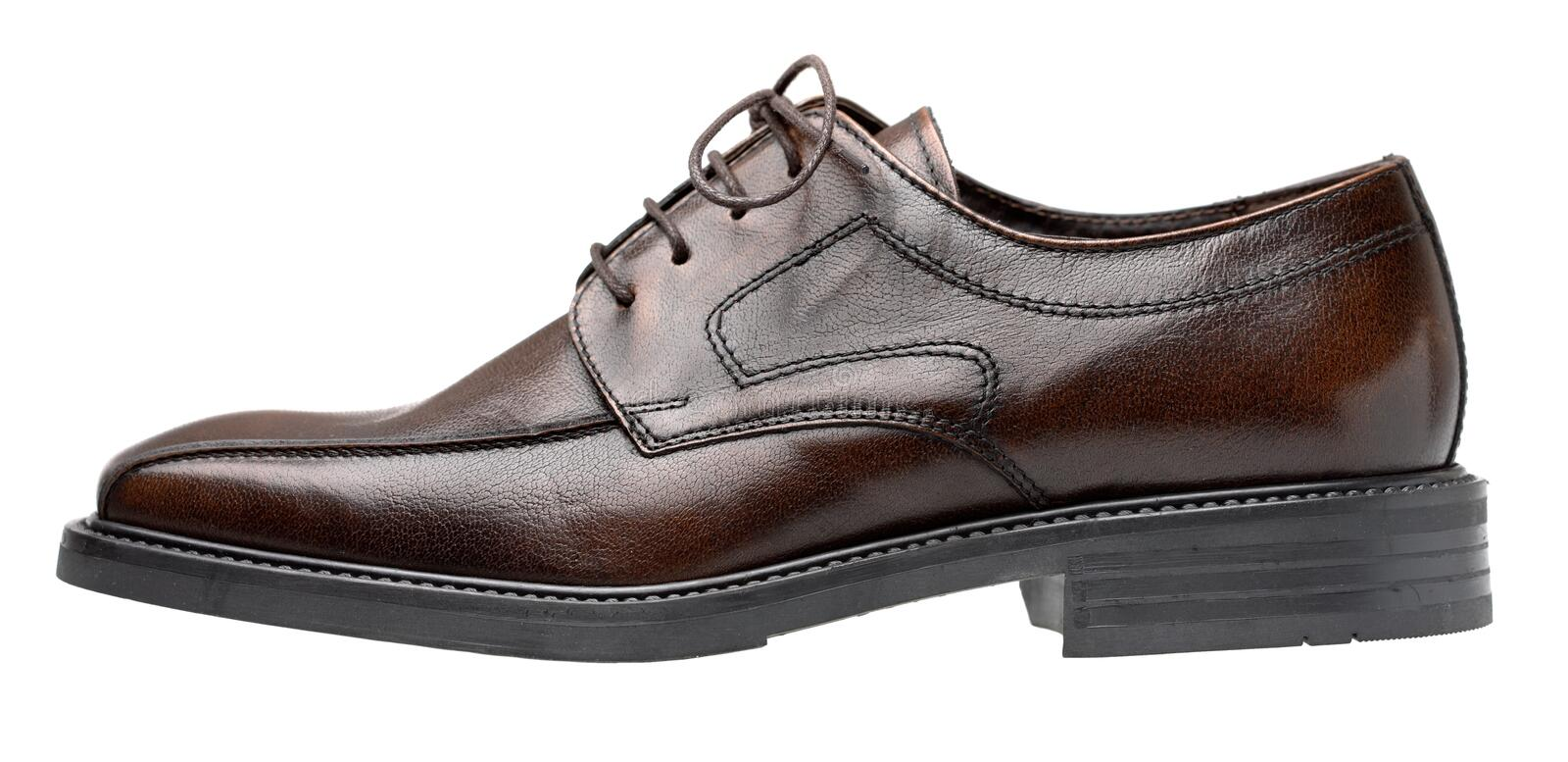 Chaussure de Brown images stock
