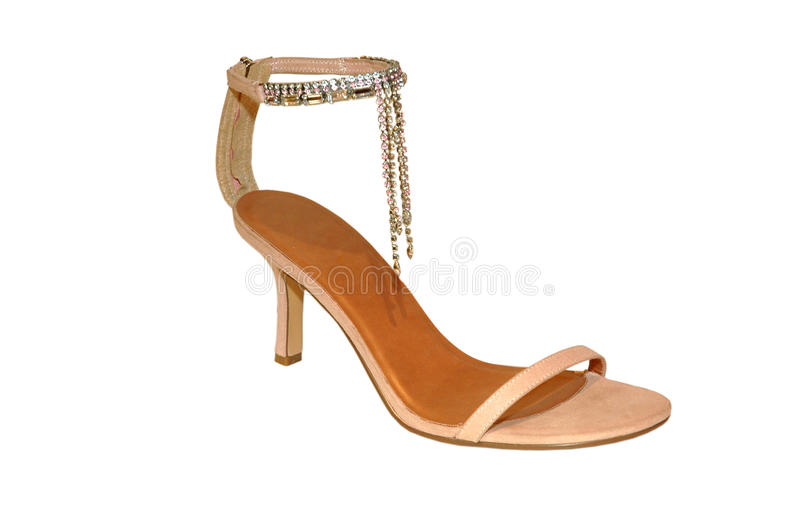 Chaussure de femme élégante image libre de droits