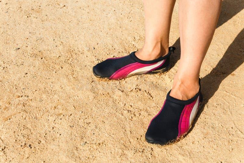 Chaussure de l'eau photographie stock libre de droits