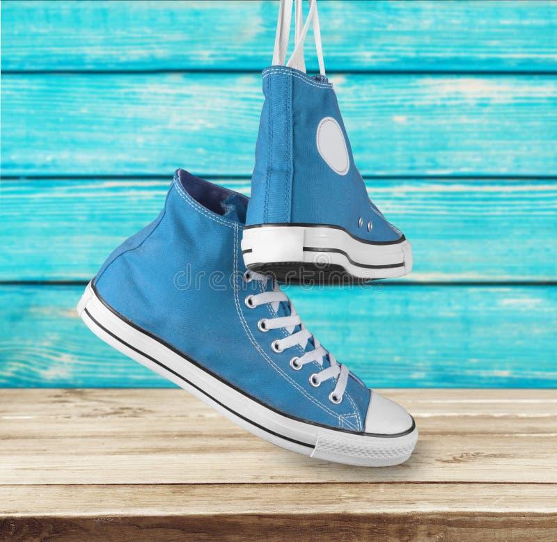 Chaussure de toile images stock