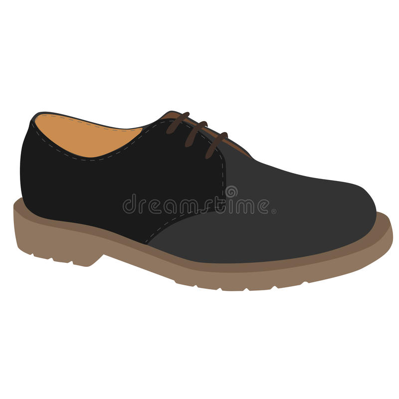 Chaussure grise illustration stock