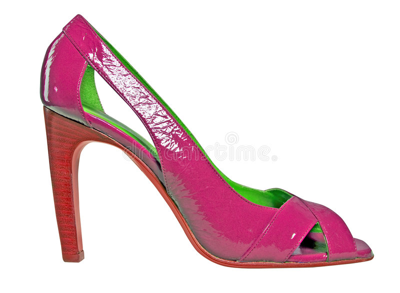 Download Chaussure rouge image stock. Image du conception, femelle - 8657683
