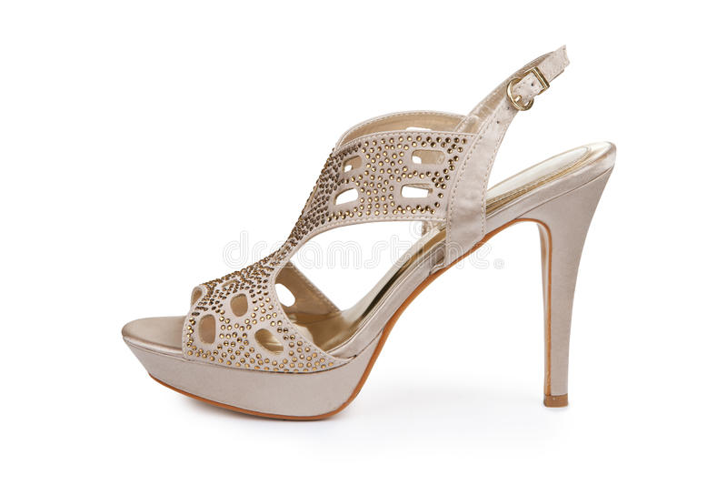 Chaussure stylet élégante images stock