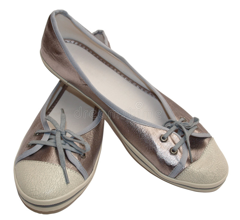 Chaussures à la mode de sports photographie stock