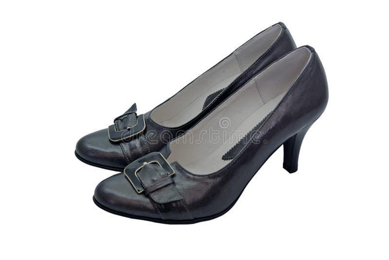 Chaussures élégantes noires illustration libre de droits