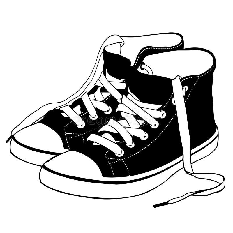 Chaussures illustration de vecteur