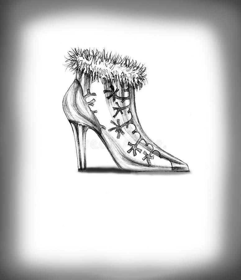Chaussures illustration stock