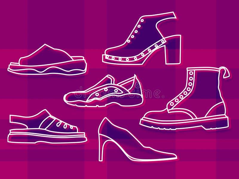 Chaussures illustration libre de droits