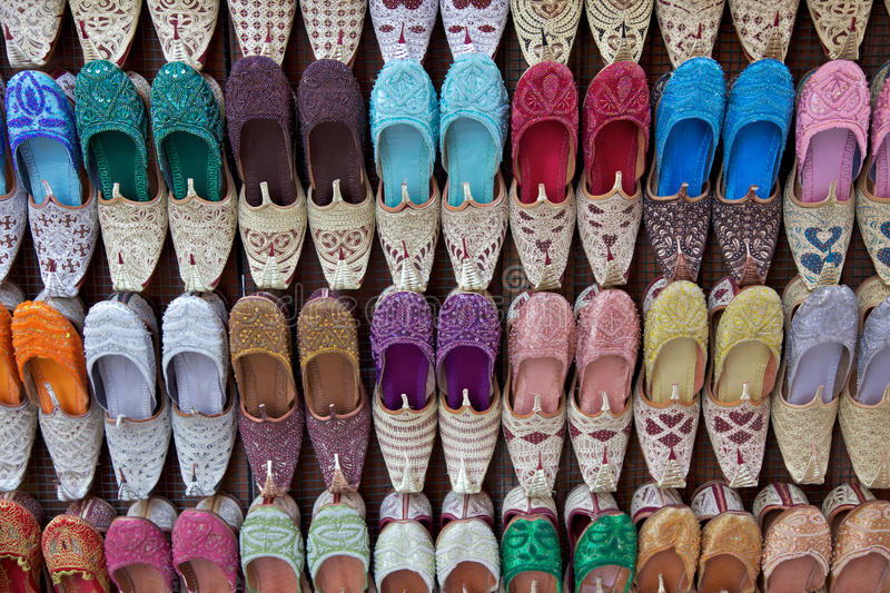 Chaussures Arabes photos stock