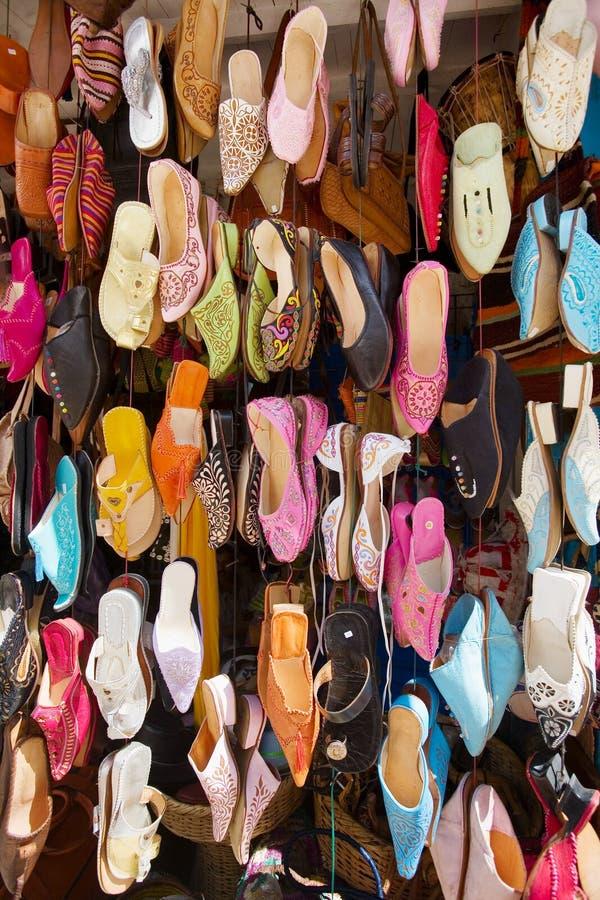 Chaussures arabes photo stock