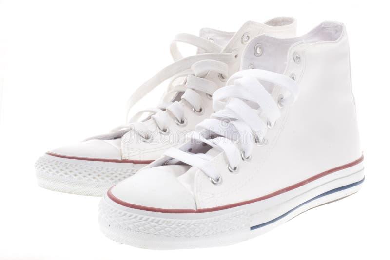 Chaussures blanches photo libre de droits