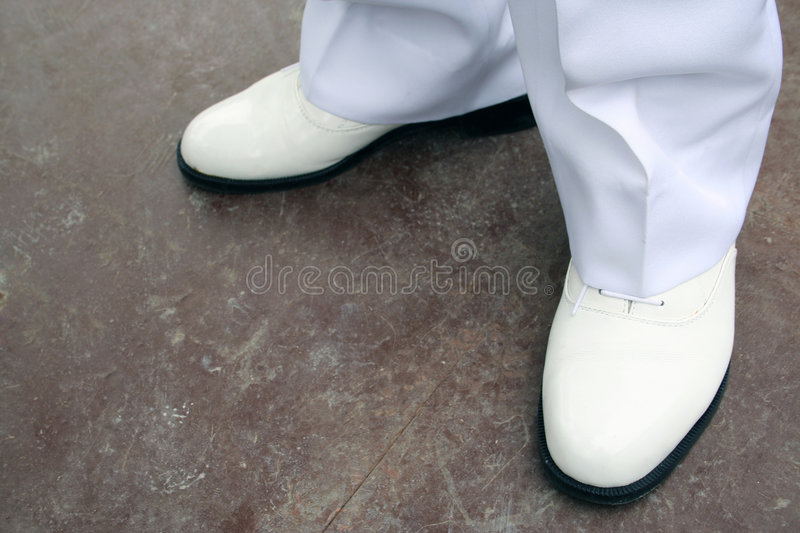 Chaussures Blanches Photos stock