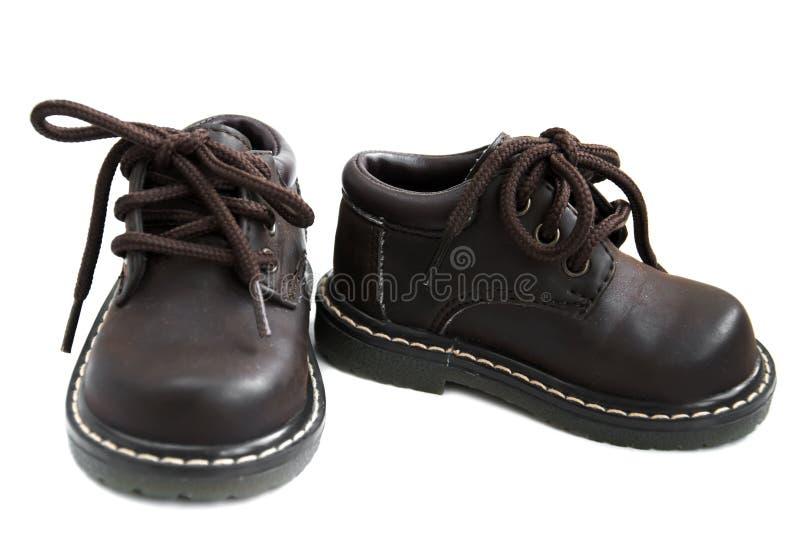 Chaussures d'enfant en bas âge photographie stock