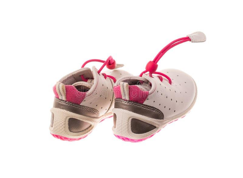 Chaussures d'enfants image libre de droits