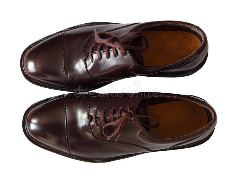 Chaussures d'hommes images libres de droits