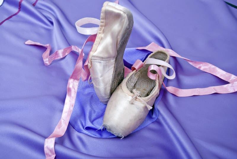 Chaussures de ballet photos libres de droits