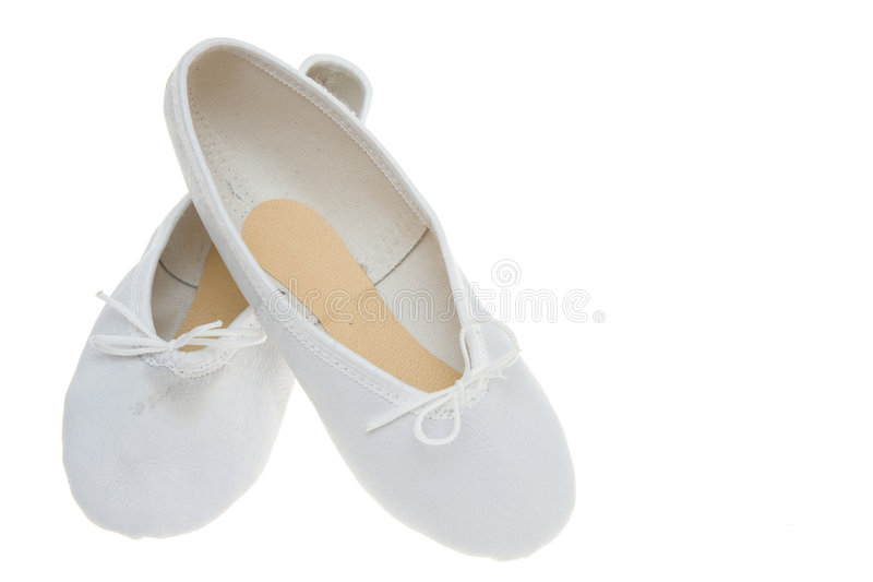 Chaussures de ballet photo stock