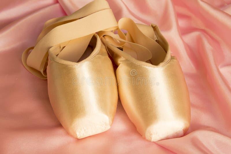 Chaussures de ballet photographie stock libre de droits