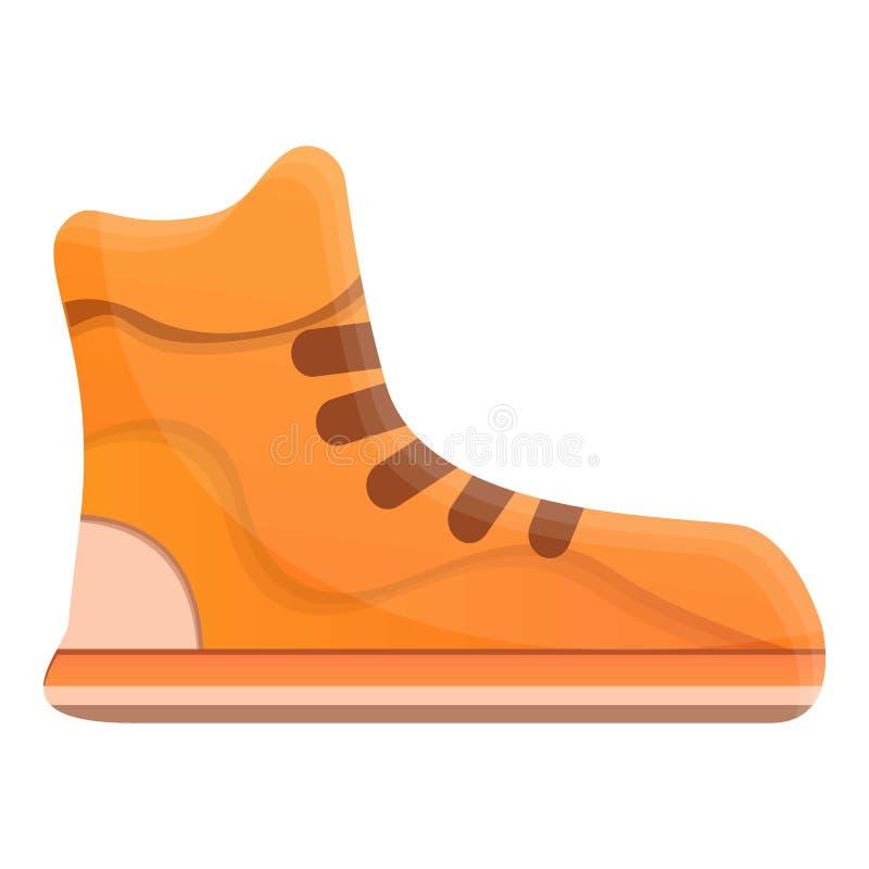 Chaussures de basket-ball icône, style de bande dessinée illustration de vecteur