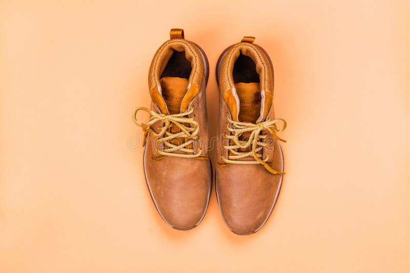 Chaussures de beige de femelles photo libre de droits