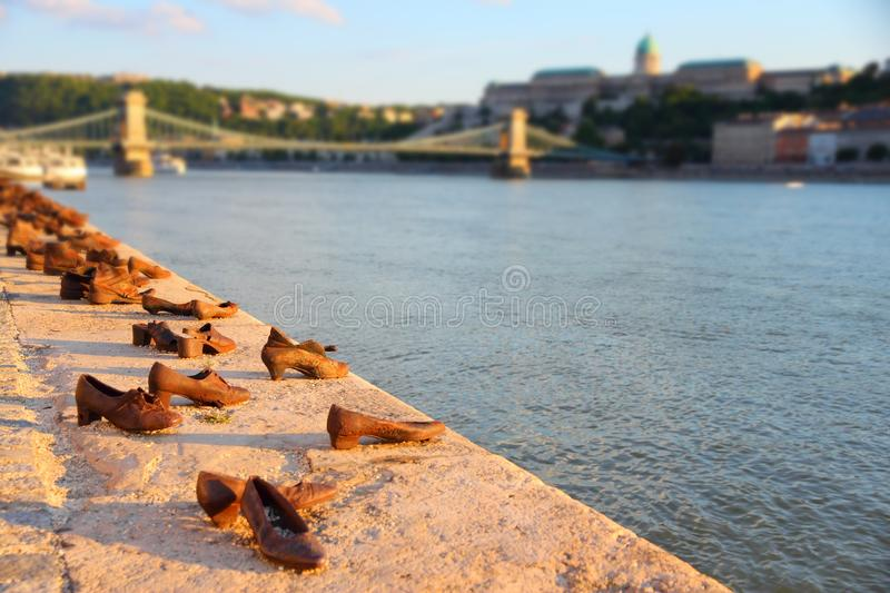 Chaussures de Budapest photos stock