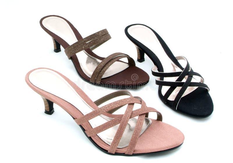 Chaussures de classique de femme image libre de droits
