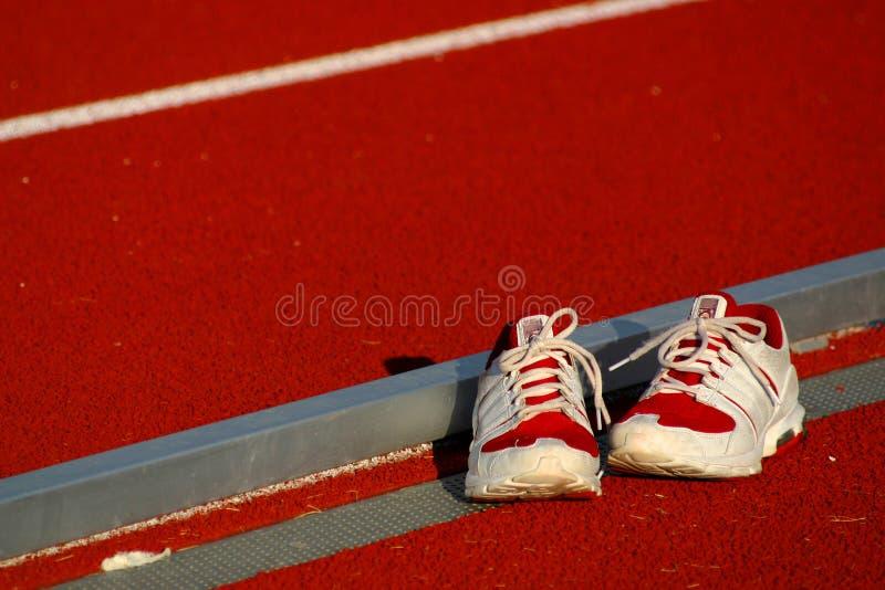 Chaussures de course photographie stock libre de droits