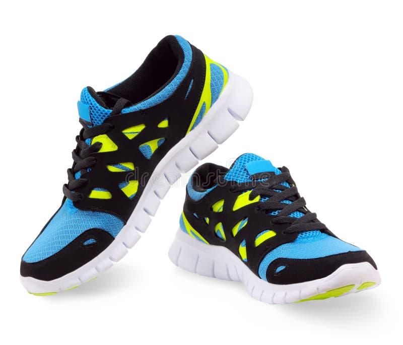 Chaussures de course légères photo stock