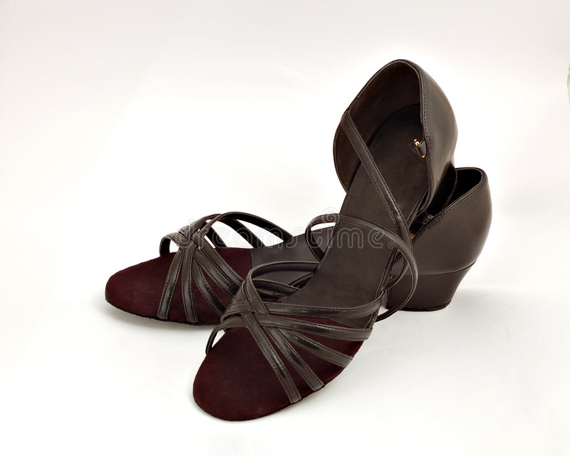 Chaussures de danse de salle de bal image stock