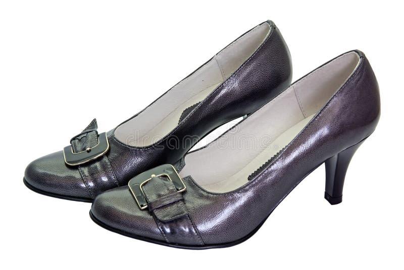 Chaussures de femme élégante photo libre de droits