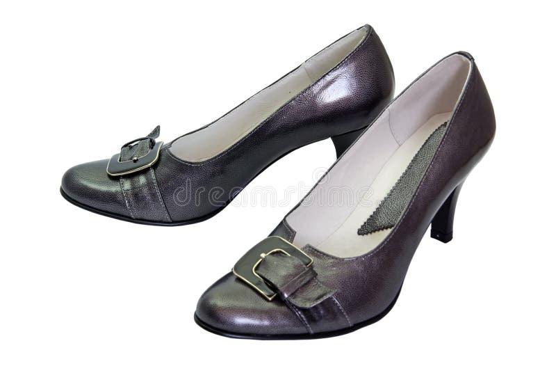Chaussures de femme de couleur photos libres de droits