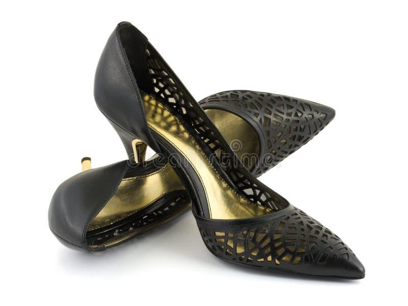 Chaussures de femmes de couleur image libre de droits