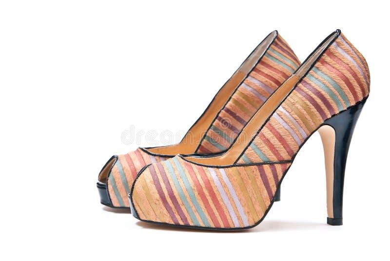 Chaussures de hauts talons photos stock