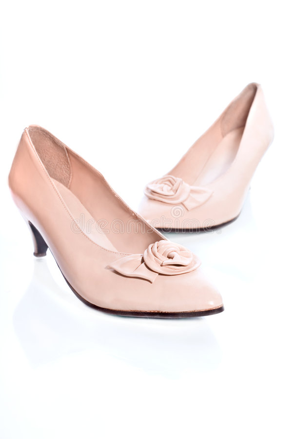 Chaussures de mariage photos libres de droits