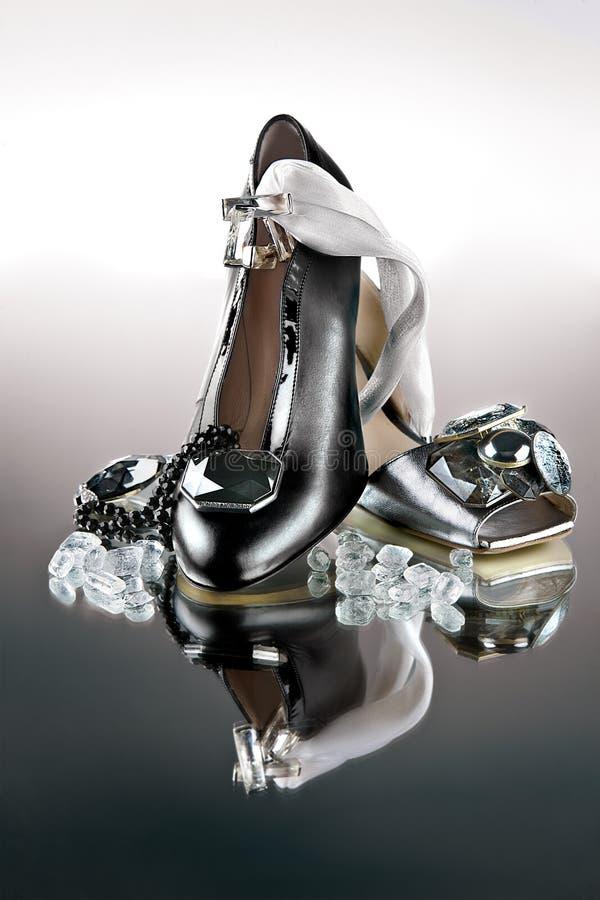 Chaussures de mode élevée photographie stock libre de droits