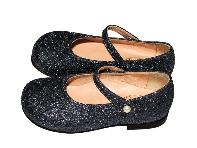 Chaussures de mode d'enfants image stock