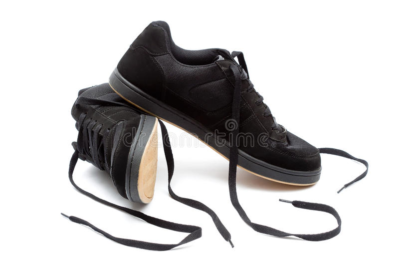 Chaussures de patin photo stock