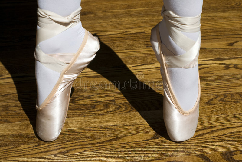 Chaussures de Pointe photo stock
