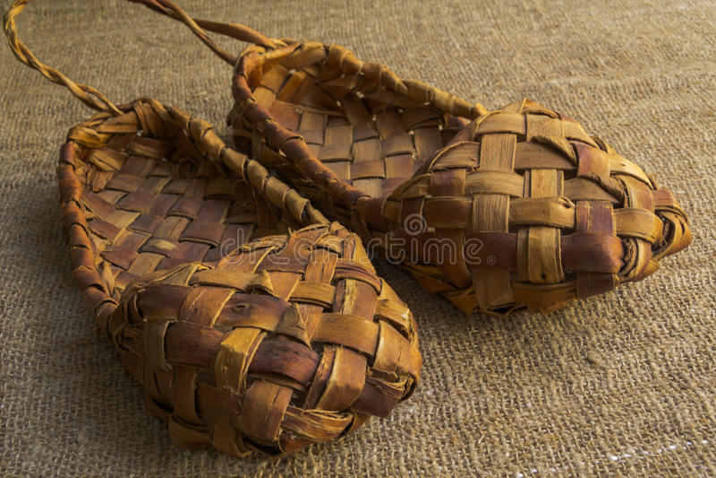 Chaussures de souvenir photo stock