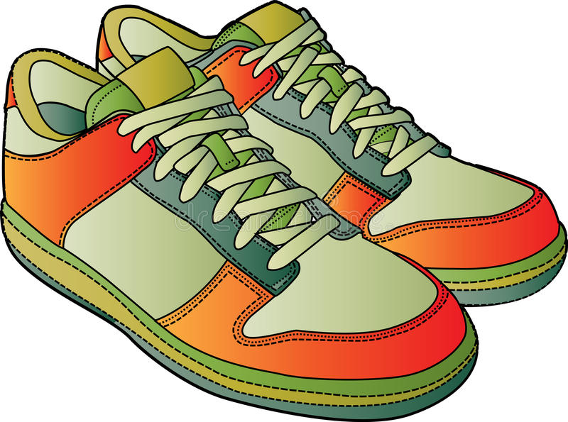 Chaussures de sport illustration stock