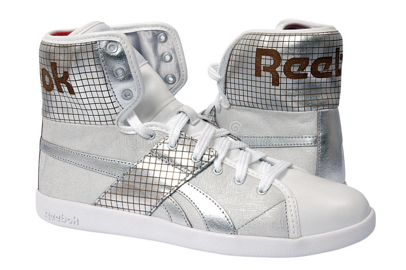 Chaussures de sport de Reebok photos libres de droits