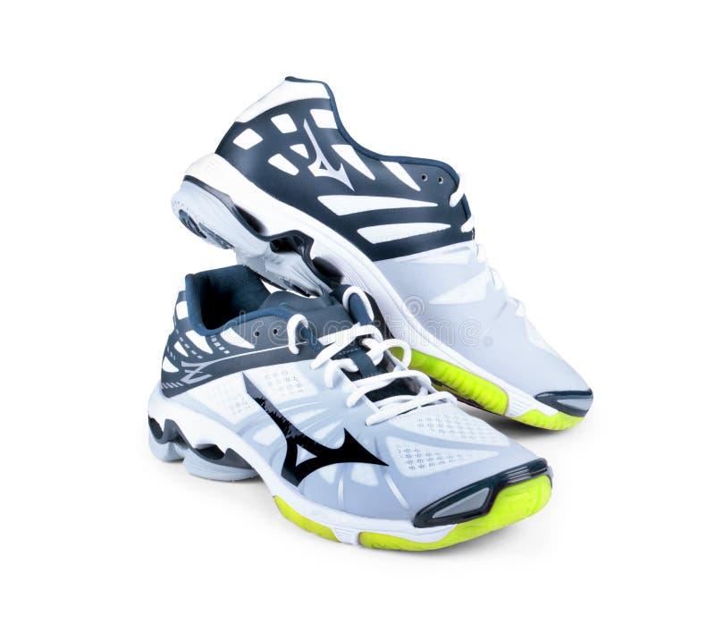 Chaussures de sports dessus images libres de droits