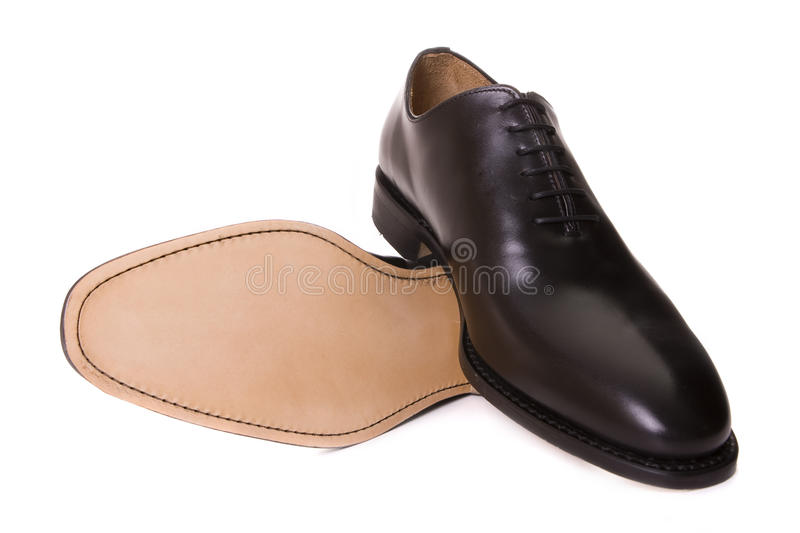 Chaussures en cuir photographie stock