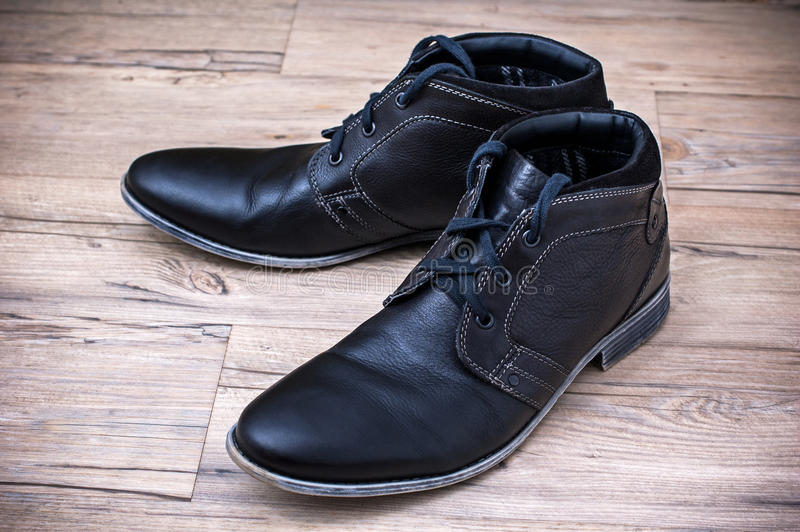 Chaussures en cuir images stock