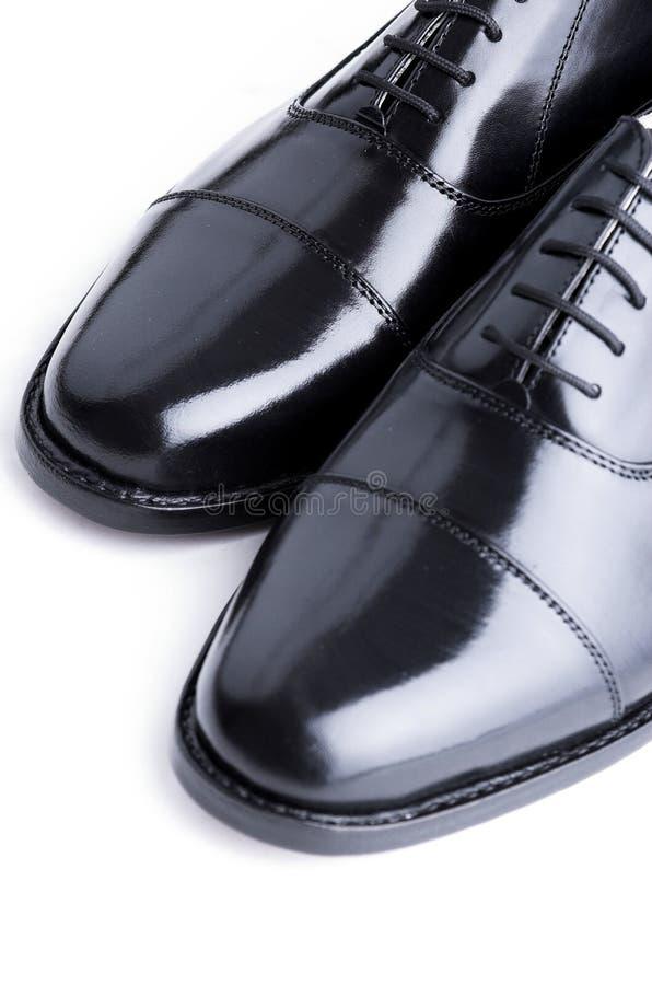 Chaussures en cuir de Gentlemanâs images stock