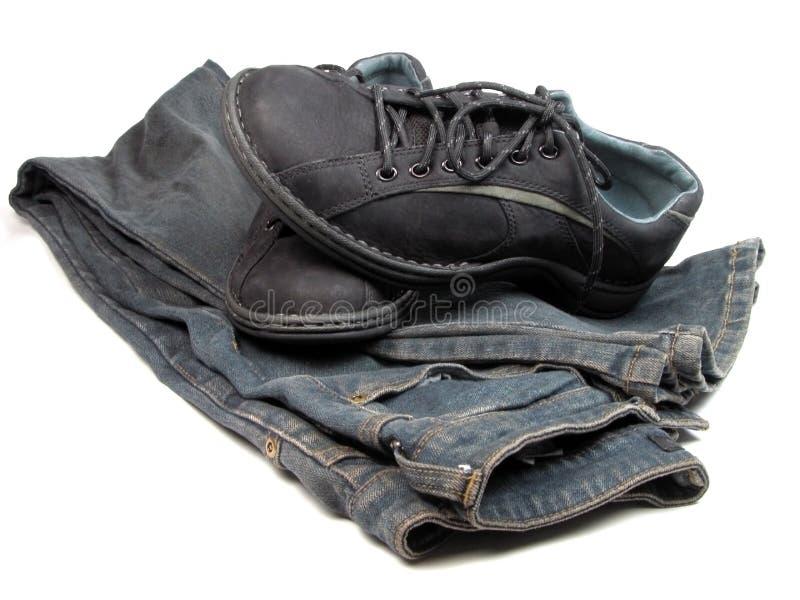 Chaussures et jeans images libres de droits