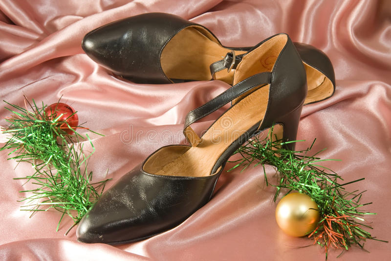 Chaussures femelles image stock