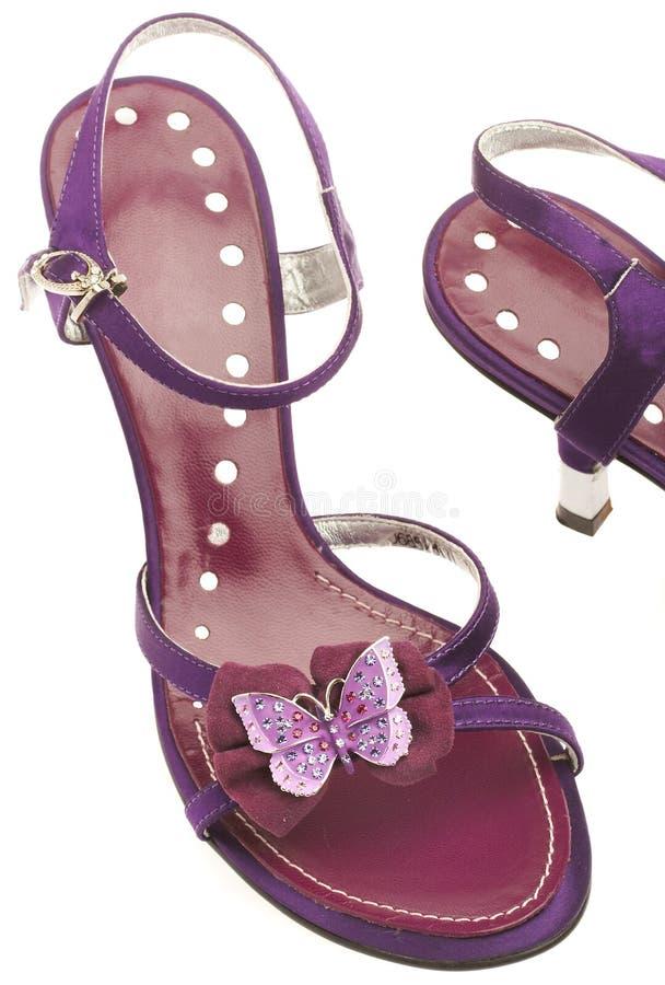 Chaussures femelles photographie stock libre de droits